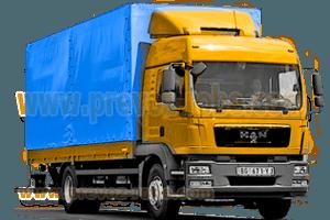 kamionski prevoz robe, više kamiona sa i bez utovrane rampe, profesionalna usluga preko dve decenije iskustva