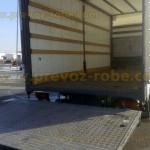 kamion mercedes utovarna rampa