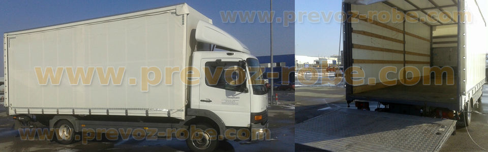 kamionski prevoz Beograd, prevoz robe kamionom u ponudi su savremni kamioni sa velikim tovarnim prostorom